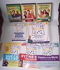 Lot 5 Biggest Loser books +3 DVDs Cardio Fitness Program Recipe Calorie Counter