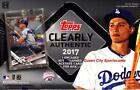 2017 TOPPS CLEARLY AUTHENTIC BASEBALL HOBBY BOX Factory Sealed 1 ENCASED AUTO