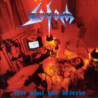 SODOM GET WHAT YOU DESERVE SEALED CD NEW