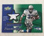 2001 Score Select Ricky Watters Auto Autograph Patch Card 47 50 Seahawks