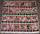 1972 Sunoco Football Stamp Sheet Atlanta Falcons Card 24dif New Player Update
