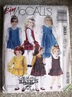 McCall's Easy Children's Jumpers ~ #3831 ~ Size CF (4,5,6) New Pattern