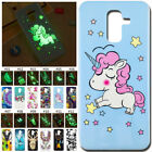 For Samsung Galaxy Luminous Glow In The Dark Fluorescence Soft TPU Case Cover