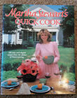 Martha Stewarts Quick Cook 1983 Signed Autographed Author of Entertaining