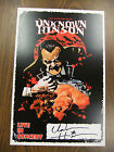 Unknown Hinson Signed Show Poster 5 Bats Moon & Woman Squidbillies Early Cuyler