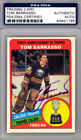 Tom Barrasso Autographed 1984-85 O-Pee-Chee Rookie Card Sabres PSA DNA 83921195