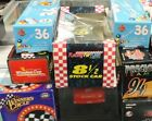 Lot of 8 124 scale NASCAR Diecast Cars