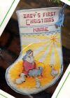 Vintage Sunset 8 Nativity Manger Babys Christmas Cross Stitch Stocking Kit 1001
