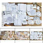 45pcs Vintage Memories Writable Paper Sticker DIY Scrapbooking Office Stickers