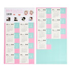Diy Paper Calendar Scrapbook Album Diary Book Decor Planner Sticker Craft New