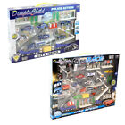 Dimple KTDC986309 Die Cast City Police Force Vehicle City Race and Town Set with