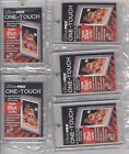 (5) Brand New Ultra-Pro One-Touch Magnetic 35-Pt U.V. Protected Card Holders (D)