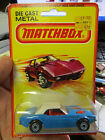 Vintage Matchbox Superfast No1 Dodge Challenger BLUE Original Blister 164