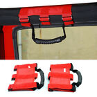 Red Extreme Premium Car Roll Bar Skid Grab Handle for Jeep Wrangler JK TJ YJ