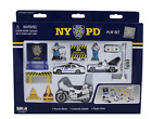 NYPD Toy Childrens Play Set Action Figure13 Piece New York City Police Diecast
