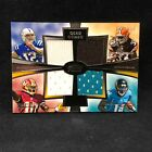 ANDREW LUCK ROBERT GRIFFIN RICHARDSON BLACKMON 2012 TOPPS QUAD JERSEY #d 338 610