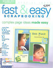 Fast  Easy Scrapbooking Magazine Memory Makers Fall 2002 Card Making Stamping