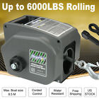 6000lbs 12V Electric Recovery Winch Remote Control IP68 For Boat Trailer Truck