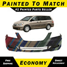 New Painted To Match Front Bumper Cover Fascia For 2005-2007 Honda Odyssey Van