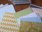 Stampin Up Paper Share 6 different Retired DSP sets 72 total 6x6 inch papers