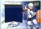 RC 1x 50 RYAN NUGENT HOPKINS PRIME TIME JERSEY AUTO on card ROOKIE 2011 11 12