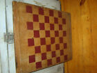 HANDSOME BIG OLD GAMEBOARD GAME BOARD AWESOME SIZE, PATINA, PAINT  AAFA NR