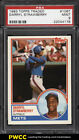 1983 Topps Traded Darryl Strawberry ROOKIE RC #108T PSA 9 MINT (PWCC)