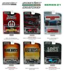 Greenlight 164 Hollywood Series 21 Set of 6 Diecast Dodge Ford Jeep Chevy 44810