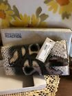 NWT!!  AND  NIB!!!!!  KENNETH COLE REACTION  SNAKE SKIN LOOK CLUTCH W/COIN PRSE