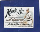 MAKE A HIT WISKEY HONUS WAGNER ST LOUIS MLB ADVERTISING CARD 25 CARD LOT