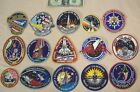 1986 to 1990 SPACE SHUTTLE MISSIONS 15 EMPLOYEE ISSUED PATCHES STS 61C to STS 35