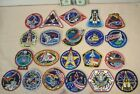 1991 to 1993 SPACE SHUTTLE MISSIONS 21 EMPLOYEE ISSUED PATCHES STS 37 to STS 61