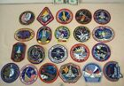 1994 to 1996 SPACE SHUTTLE MISSIONS 21 EMPLOYEE ISSUED PATCHES STS 60 to STS 80