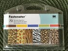 Ek Success Fastenater 72 Decorative Staple Bars Animal Print