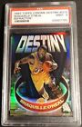1997 SHAQUILLE O'NEAL TOPPS CHROME DESTINY REFRACTOR #D15 PSA 9 LAKERS (430)