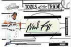 2005 PLAYOFF ABSOLUT TOOLS OF TRADE WADE BOGGS AUTO 1 1