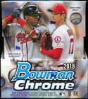 2018 Bowman Chrome Baseball Hobby 2 Box Lot Flash Sale