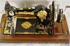 *JONES*HAND CRANK SEWING MACHINE*VERY NICE*CIRCA 1920s*
