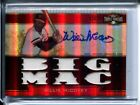 Willie McCovey 2011 Topps Triple Threads Jersey Relic AUTO Autograph #1 18