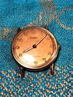 Vintage Estate Certina Analog Antimagnetic 16 Jewel Swiss Made Watch for Repair