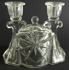 Early American Prescut EAPC Double Candlestick Candle Holder