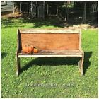 Antique/Vintage Wooden Church Pew Bench~Farmhouse Style~Wood Church Pew