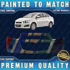 New Painted To Match Front Bumper Fascia For 2012-2016 Chevy Sonic Sedan Hatch