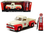 GREENLIGHT 1/18 1953 FORD F-100 TEXACO WITH VINTAGE TEXACO GAS PUMP 12991