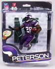 McFARLANE NFL Series # 34 ADRIAN PETERSON Variant figure Gold Level # 422 of 500