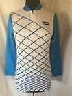 Vintage Paramount Design Group Cycling Jersey Retro Long Sleeve 1 4 Zip Mens Med