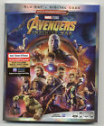 Avengers Infinity War Target Red Card Exclusive (Blu-ray + Digital) + Funko Pop