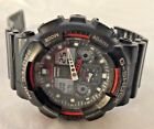 Casio G-Shock GA-100 Mens Watch New Battery Works Great- Needs Band