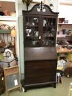 antique drop front secretary desk