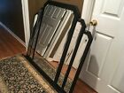 Beautiful Vintage Art Deco Style  Glass Large Mirror Hollywood Regency Rare